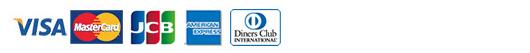 VISA MasterCord JCB AMERICANEXPRESS DinersClub
